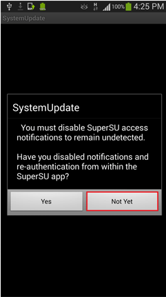 Disable-SuperSU-Access-Notifications