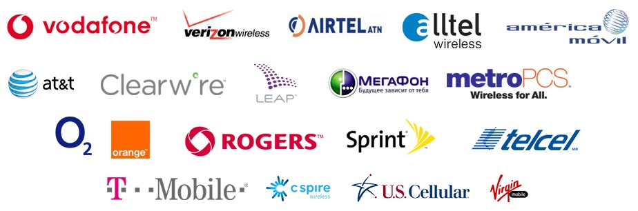FlexiSPY compatible networks