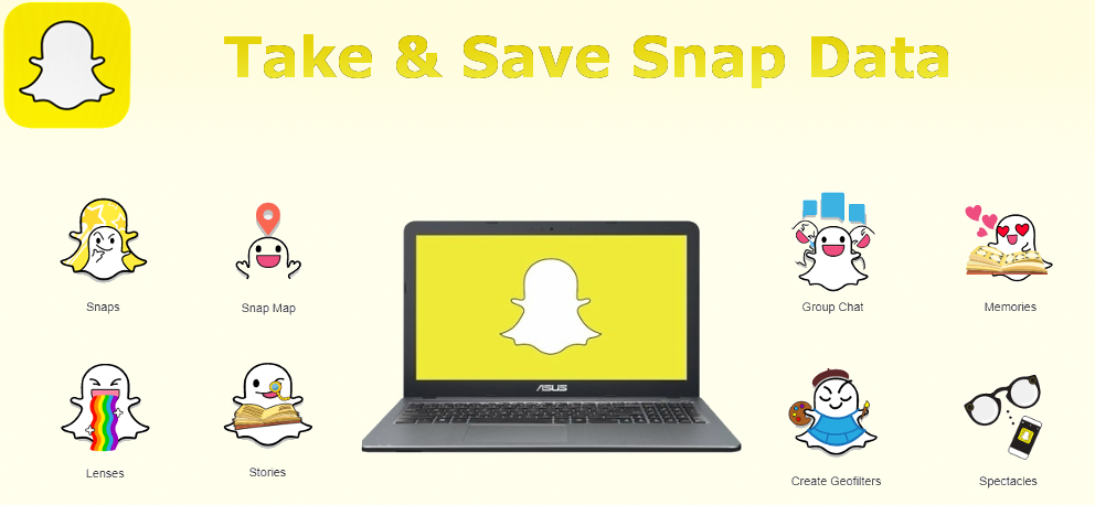 Remote Take and Save Snap Data on Computer