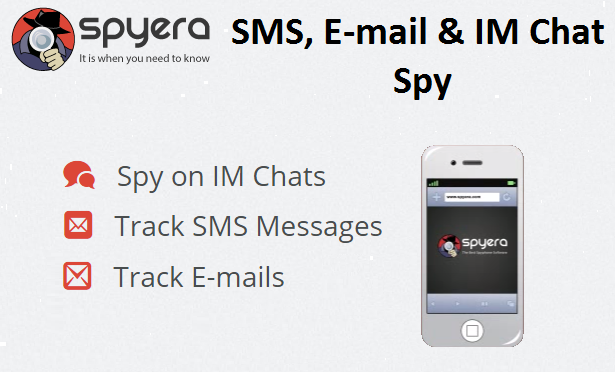 SMS, E-mail & IM Chat spy