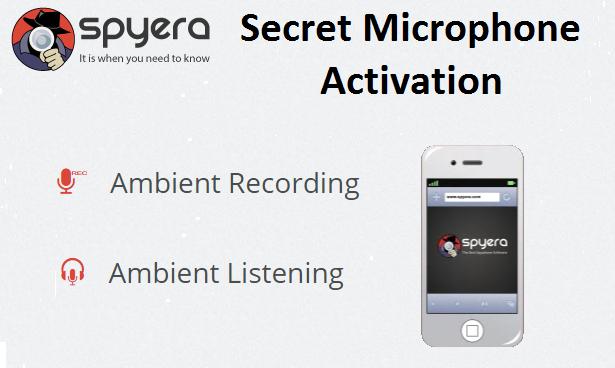 Secret microphone activation feature